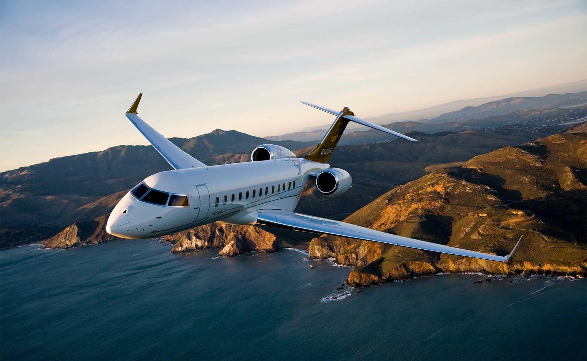 individuelle Flüge im interkontinentalen Jet