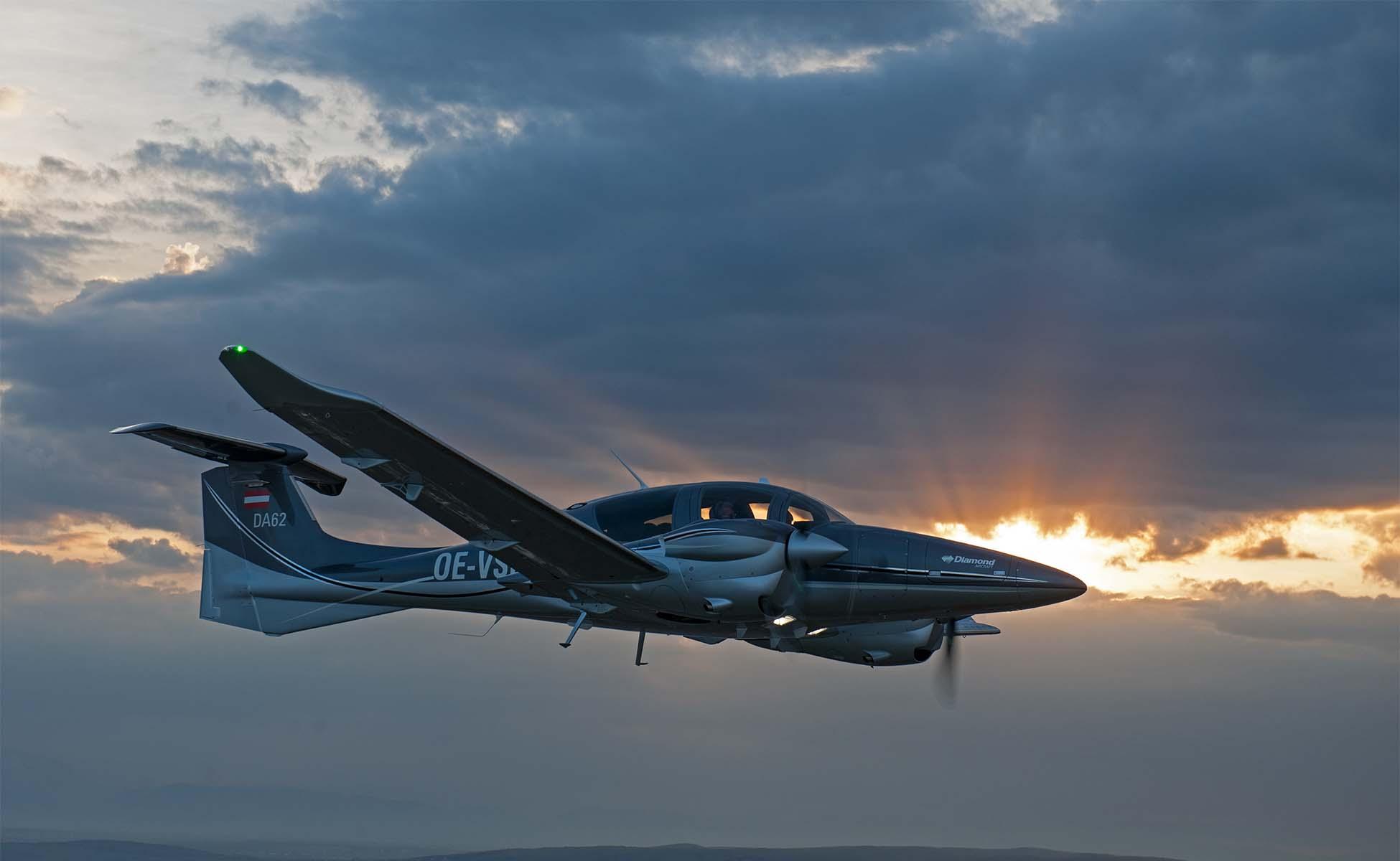 individueller Flug da62 lohn aviation